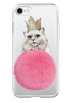 Shoptiques Product: Cat Fur Phone Case