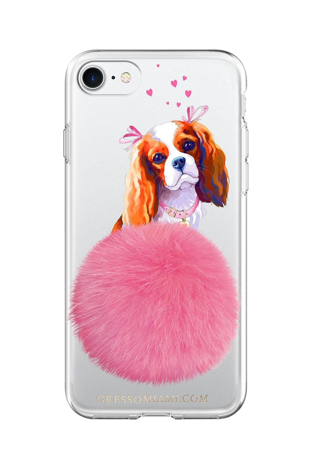 Gresso Miami Spaniel Furbaby Iphone7 Case - Main Image