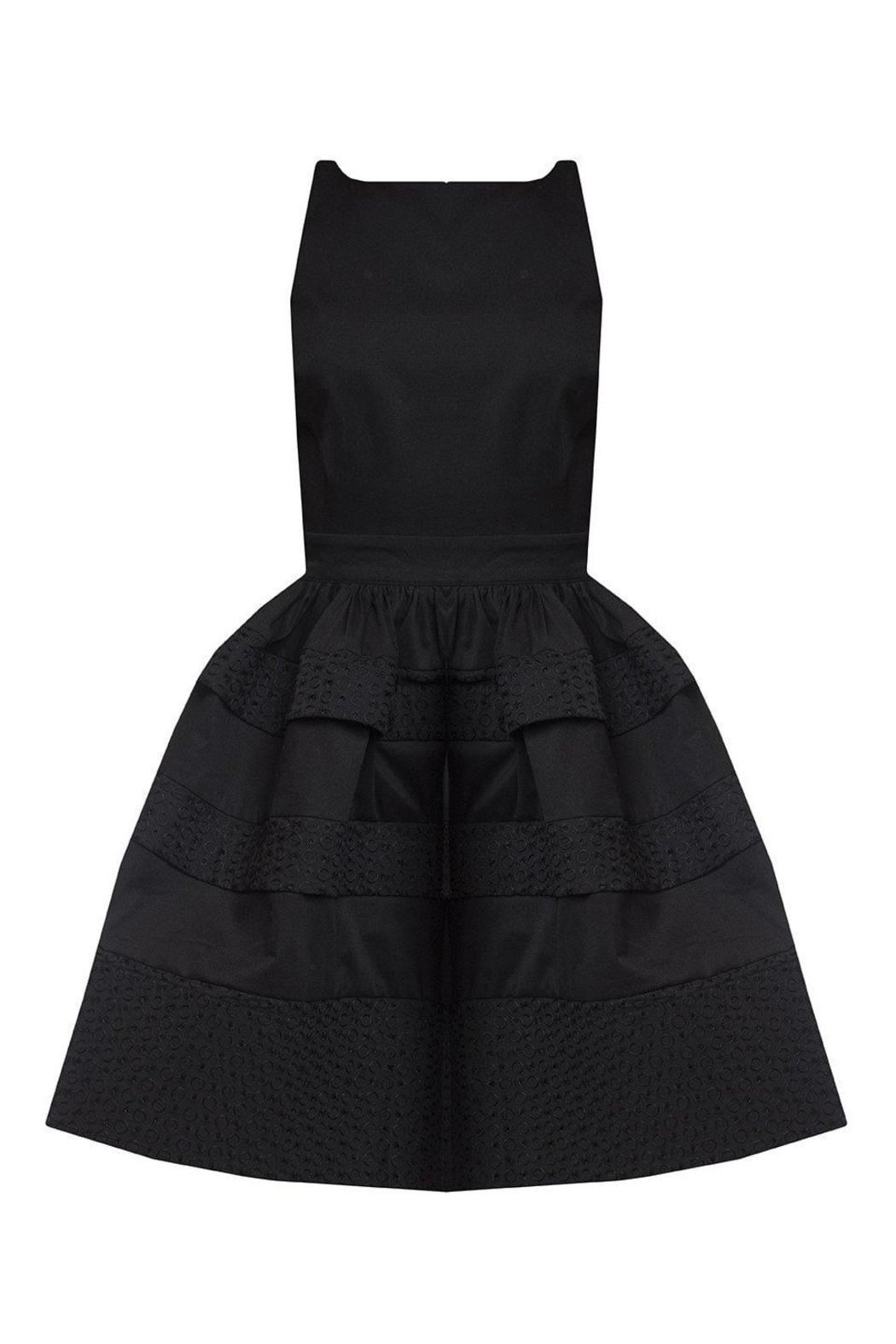 Greta Constantine Backless Bubble Dress - Front Full Image