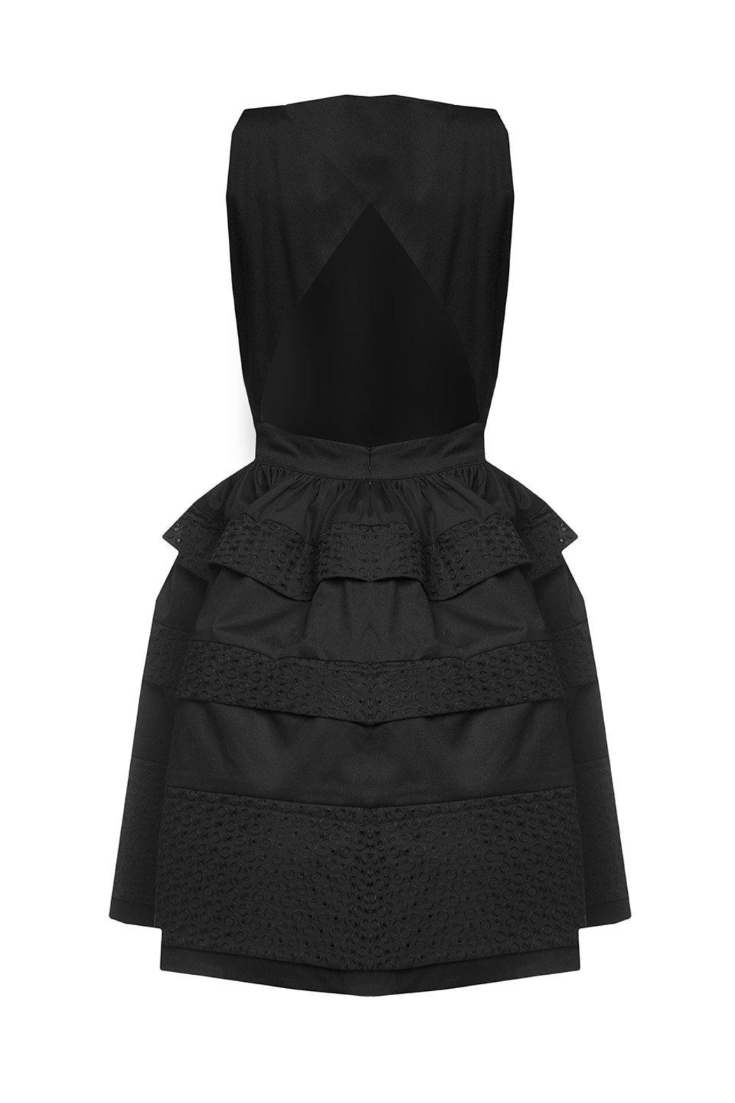 Greta Constantine Backless Bubble Dress - Side Cropped Image