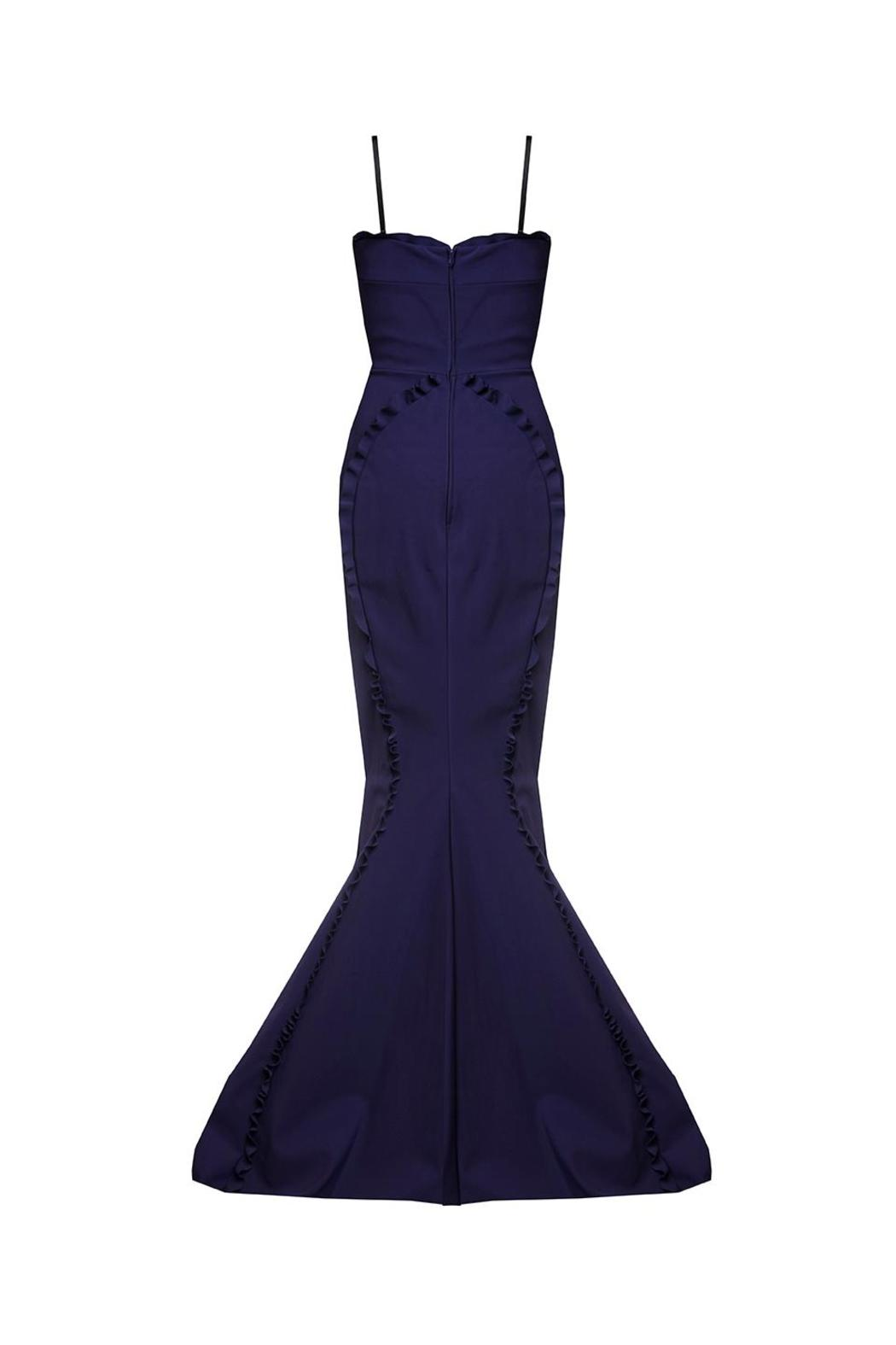 Greta Constantine Fanya Evening Gown - Side Cropped Image