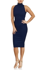 Greta Constantine Fitted Turtleneck Dress - Front cropped