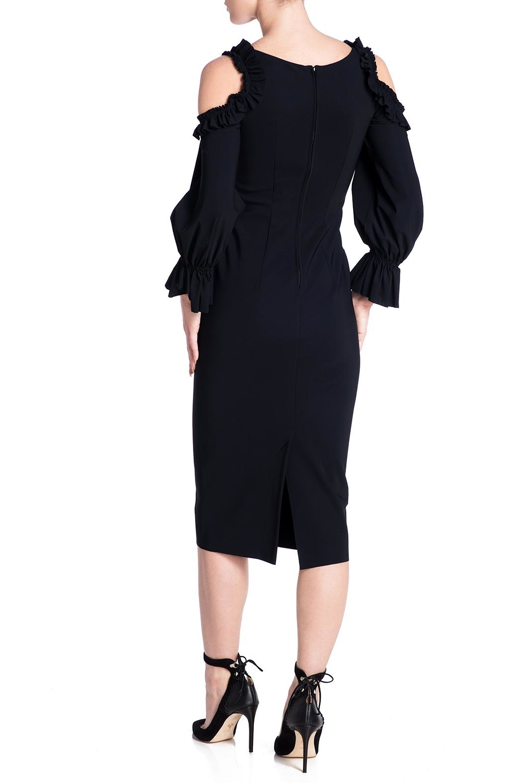 Greta Constantine Hugo Dress - Side Cropped Image