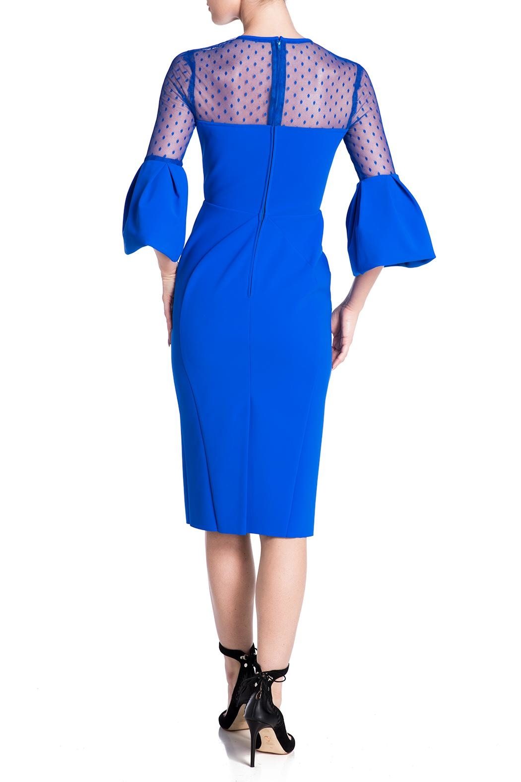 Greta Constantine Laurent Dress - Back Cropped Image
