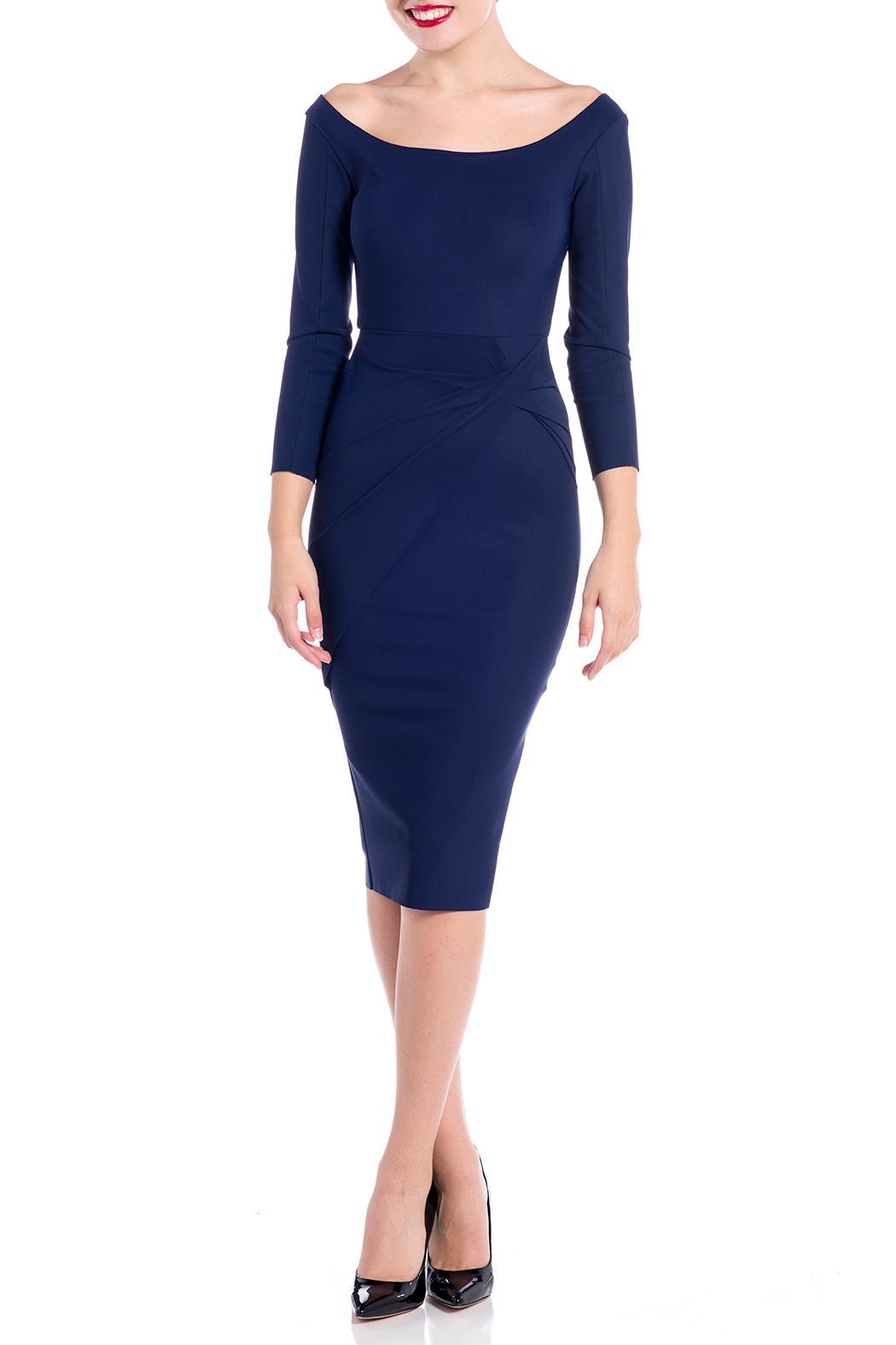 Greta Constantine Tempesta Cocktail Dress - Front Cropped Image