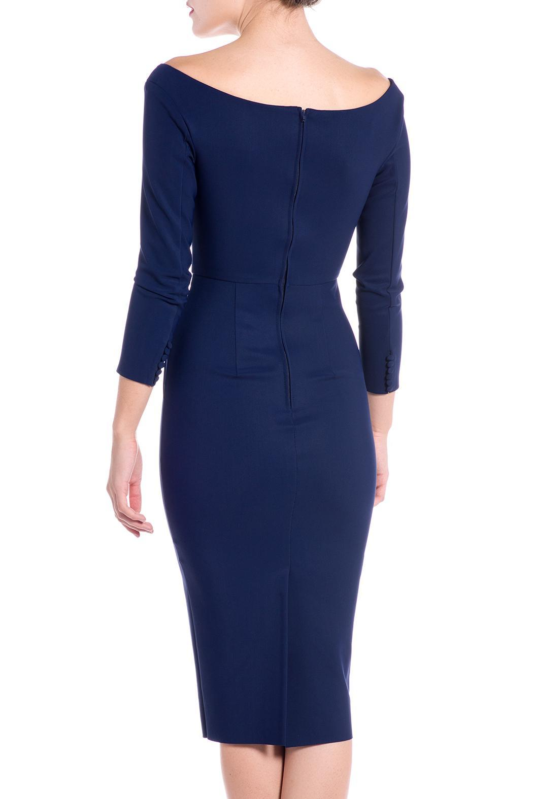 Greta Constantine Tempesta Cocktail Dress - Side Cropped Image