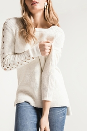 rag poets Gretchen Opem-Knit Sweater - Product Mini Image
