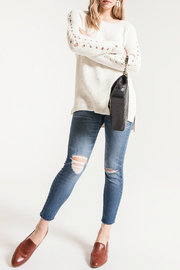 rag poets Gretchen Side lace-up Sweater - Product Mini Image