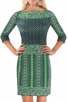 Gretchen Scott Border Dress Kanga Dress - Product List Image