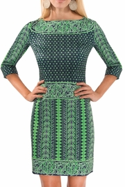 Gretchen Scott Border Dress Kanga Dress - Product Mini Image
