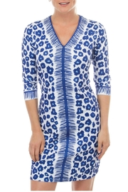 Gretchen Scott Animal Print Dress - Front cropped