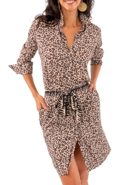 Gretchen Scott Breezy Blouson Dress - Product Mini Image