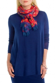 Gretchen Scott Cashmere-Like Swingy Sweater - Front cropped
