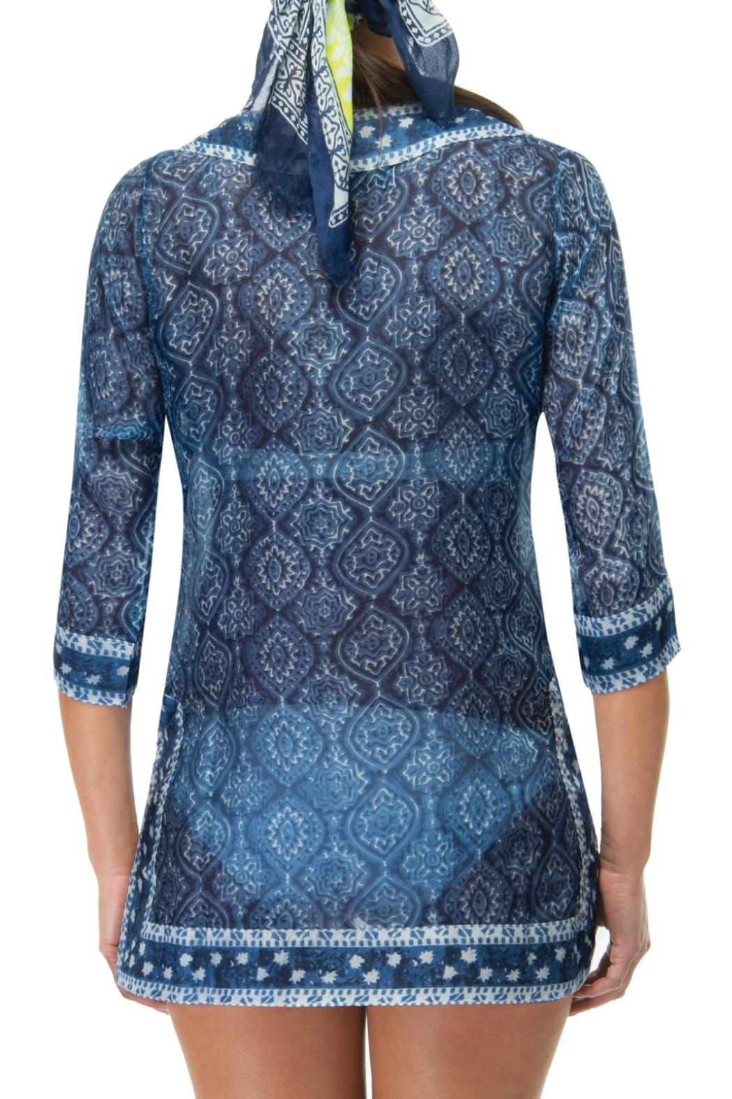 Gretchen Scott Easy Breezy Tunic Dress - Side Cropped Image