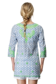 Gretchen Scott Geo Embroidered Tunic - Front full body
