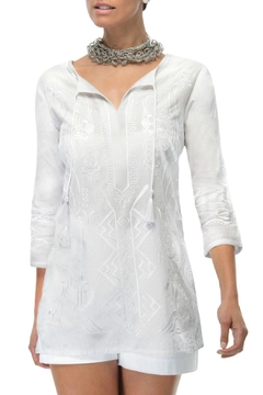 Shoptiques Product:  White Tunic Top