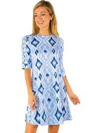 Gretchen Scott Ikat Swinger Dress - Product Mini Image