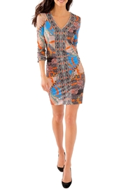 Gretchen Scott Jersey Bordertown Dress-Ditto - Back cropped