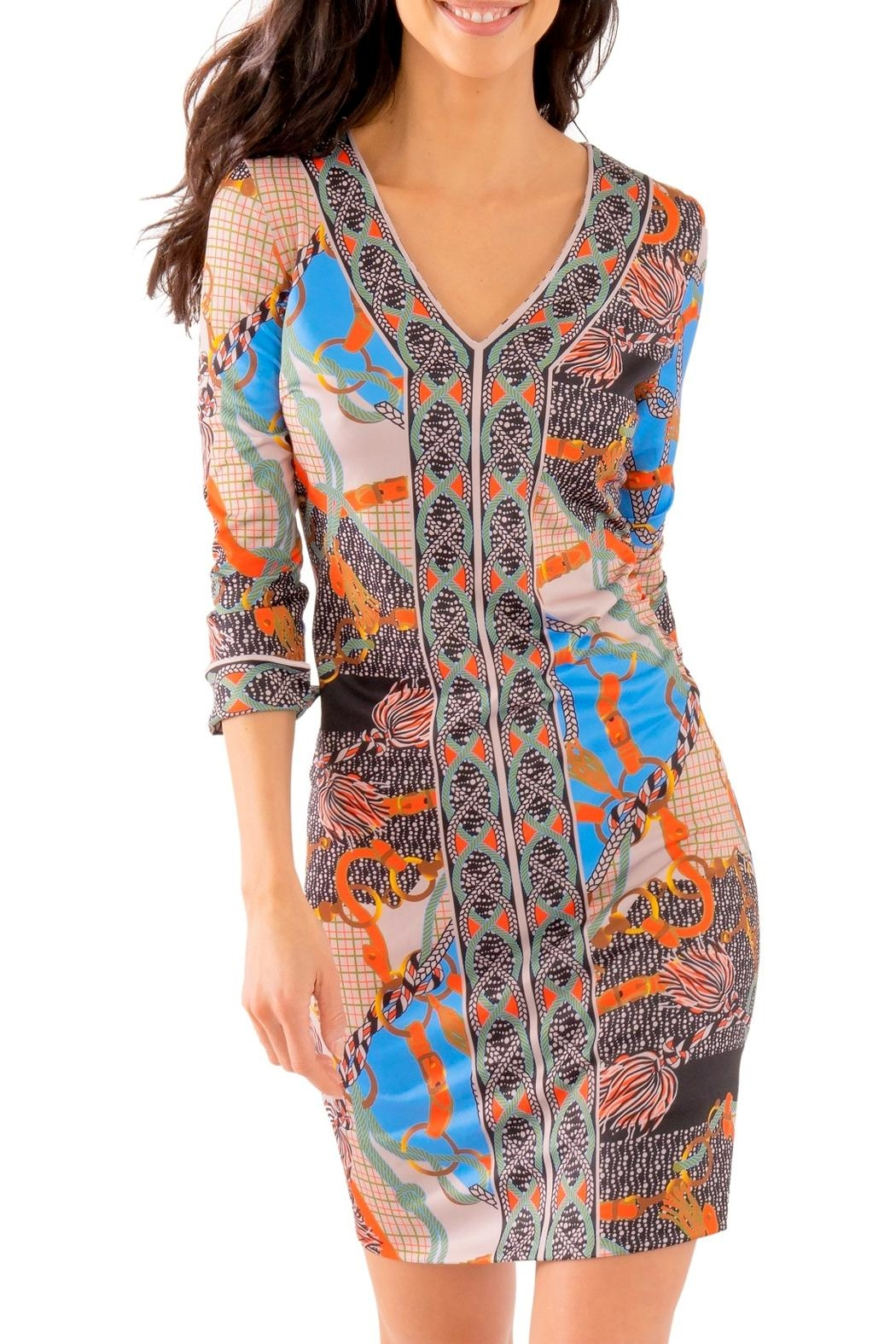 Gretchen Scott Jersey Bordertown Dress-Ditto - Main Image