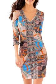 Gretchen Scott Jersey Bordertown Dress-Ditto - Front cropped