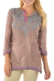 Gretchen Scott Lavender Lovely Tunic - Product Mini Image