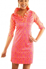 Gretchen Scott Riio Geo Dress - Product Mini Image