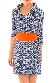 Gretchen Scott Ruffneck Jersey Dress - Product Mini Image