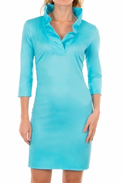Shoptiques Product: Ruffneck Jersey Dress