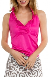 Gretchen Scott Ruffneck Jersey Top - Product Mini Image