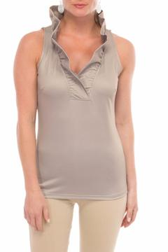 Shoptiques Product: Beige Sleeveless Top