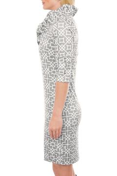 Shoptiques Product: Ruffneck Printed Dress