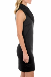Gretchen Scott Black Sleeveless Jersey Dress - Front full body