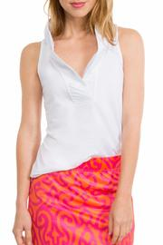 Gretchen Scott Ruffneck Tank Top - Product Mini Image