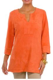 Gretchen Scott Suede Tunic Top - Product Mini Image