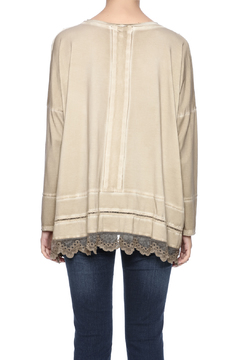 Gretty Zuegar Embroidered Boxy Top - Alternate List Image