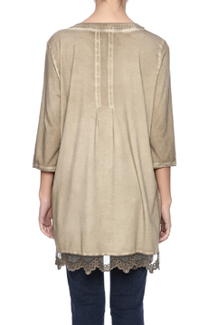 Gretty Zuegar Embroidered Sand Tunic - Alternate List Image