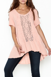 Gretty Zuegar High Low Tunic - Front cropped