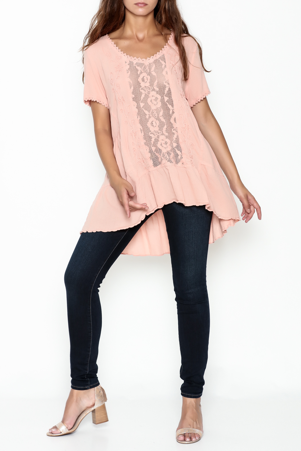 Gretty Zuegar High Low Tunic - Side Cropped Image