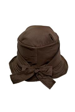 Grevi Brown Rain Hat - Alternate List Image