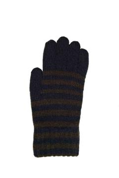 Grevi Darkbrown Navy Gloves - Alternate List Image
