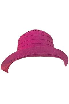 Grevi Fuchsia Bow Hat - Alternate List Image