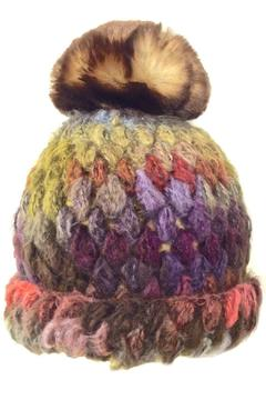 Grevi Knitted Beanie Pompom - Alternate List Image