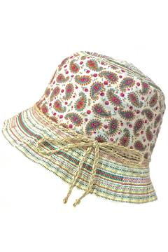 Grevi Paisley Stripes Hat - Alternate List Image