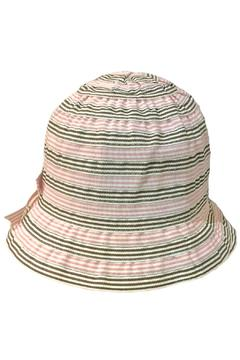 Grevi Pink Brown Bow Hat - Alternate List Image