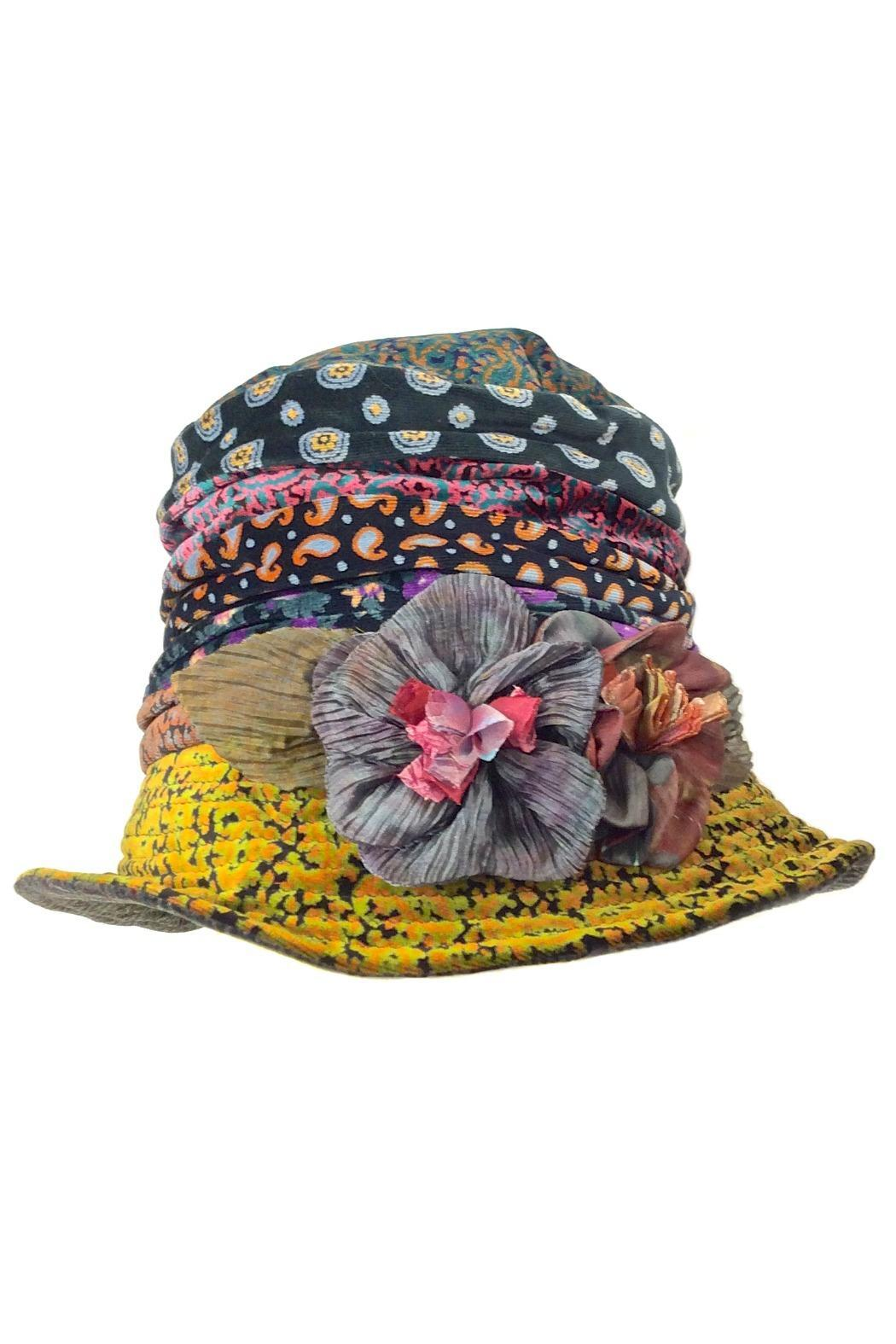 0006e310efb Grevi Printed Velvet Hat from Portland by Moods of Florence — Shoptiques