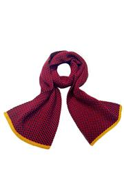 Grevi Red Knit Scarf - Product Mini Image