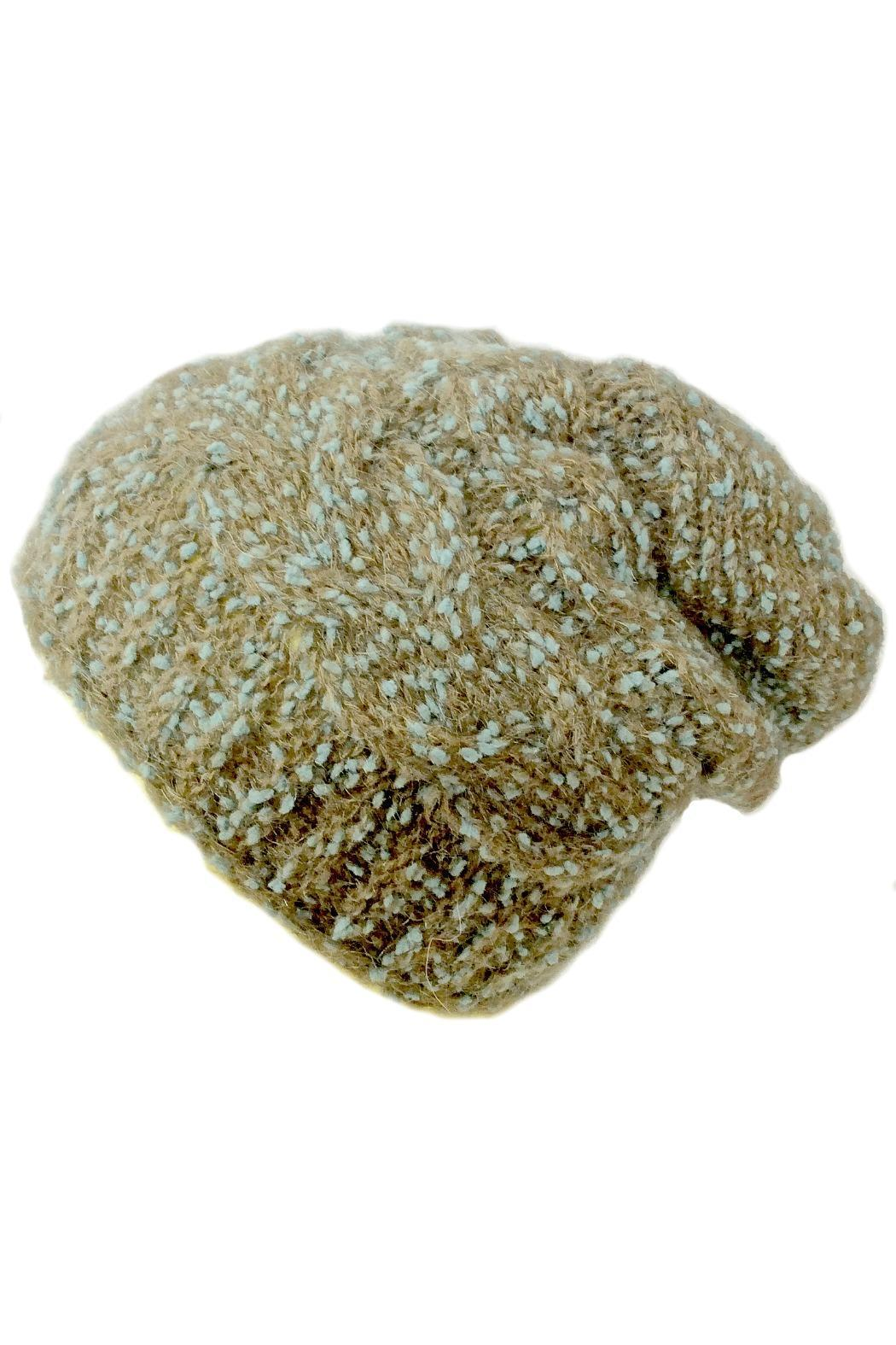 Grevi Slouchy Knitted Beanie - Main Image