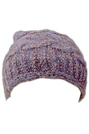 Grevi Slouchy Knitted Beanie - Front full body