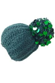 Grevi Teal Green Paillette - Product Mini Image