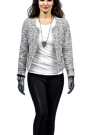 Picadilly Grey And Parchment Jacket - Product Mini Image